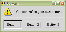 MessageBox: Define your own buttons