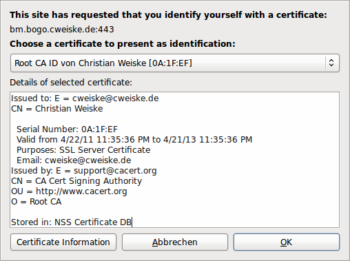 Using SSL Client Certificates with PHP