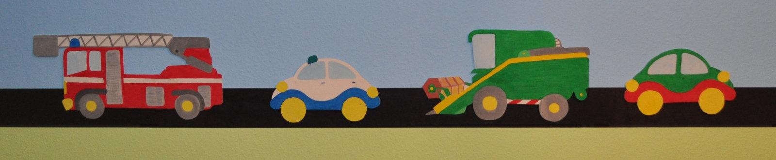 Bewegliches Wandbild fürs Kinderzimmer